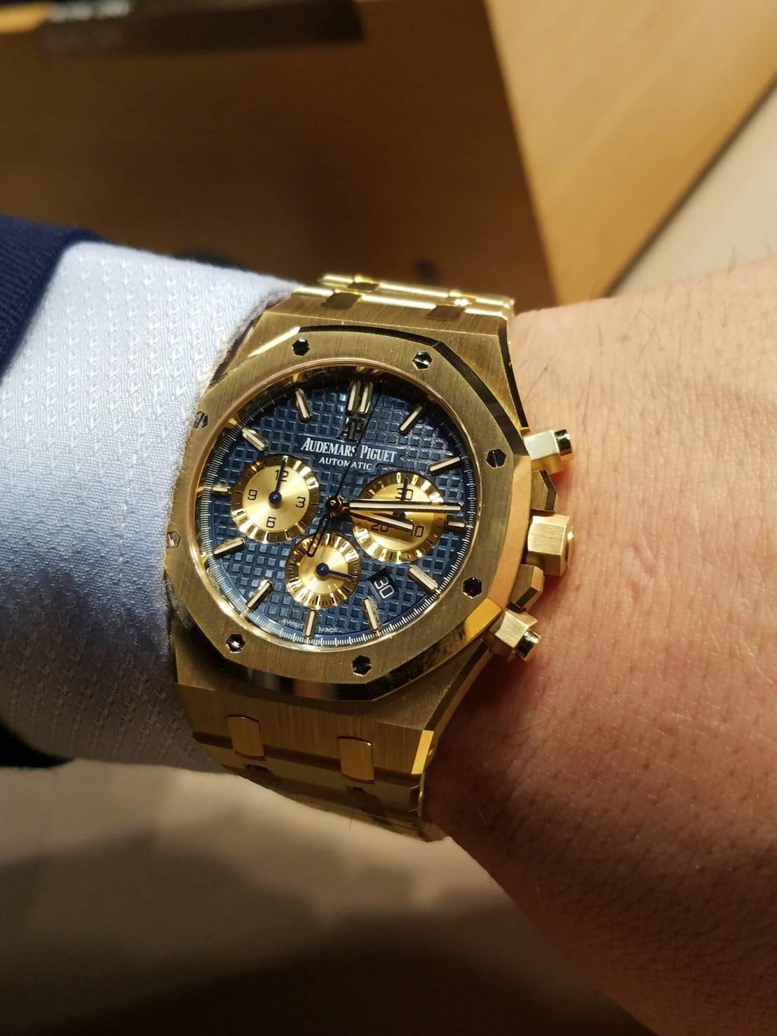 cheaper e1d39 d898b SIHH 2018新作 オーデマ ピゲ 2 | 岡山県でブランド時計 ...