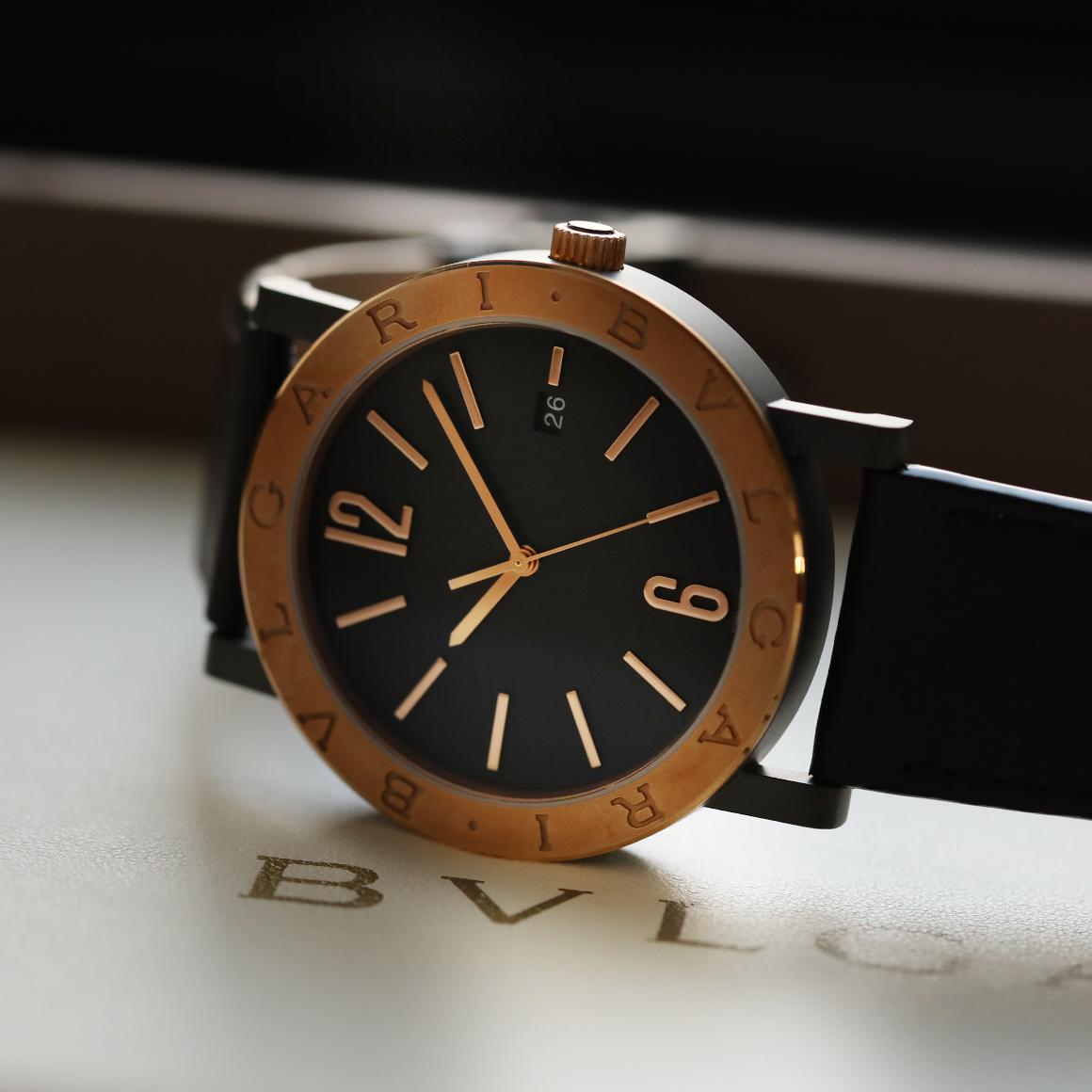 new concept c4f09 ed3bf ブルガリブルガリ ブロンズ」 | 岡山県でブランド時計・腕時計の ...
